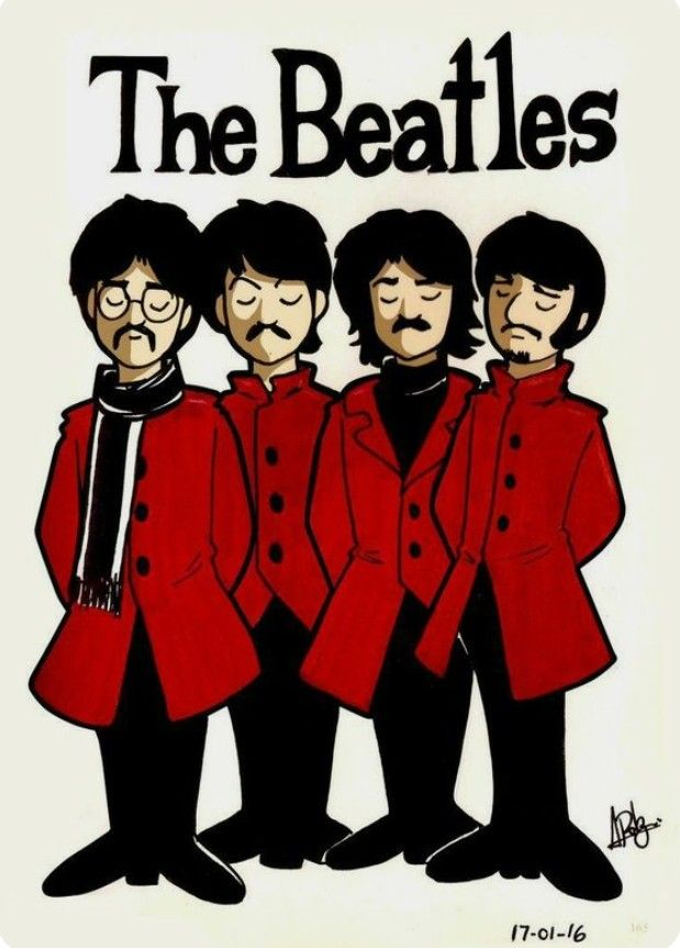The Cartles Arte De Los Beatles The Beatles Portadas Beatles