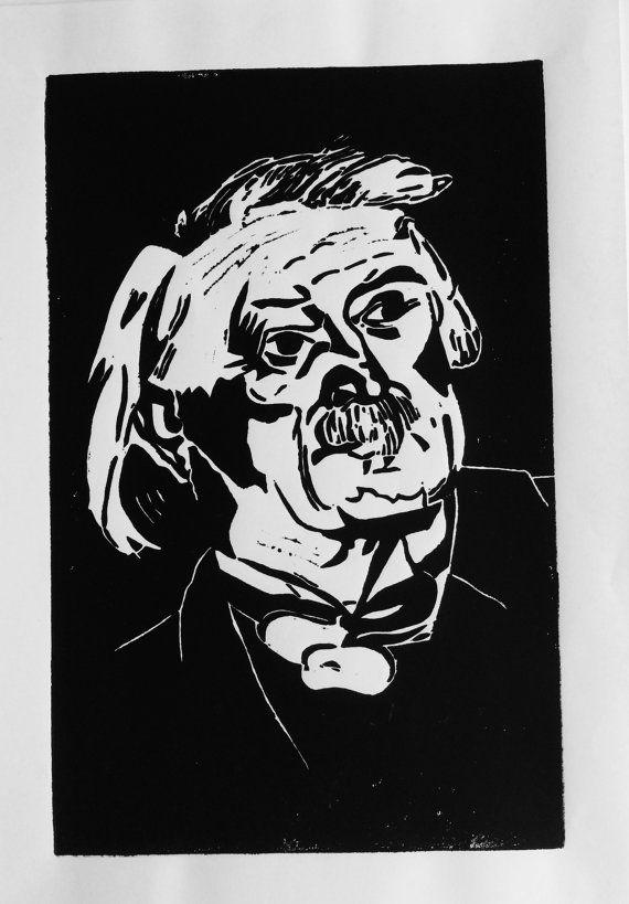 Portrait 'David Loyd George' prime ministers by BonnysLoft on Etsy