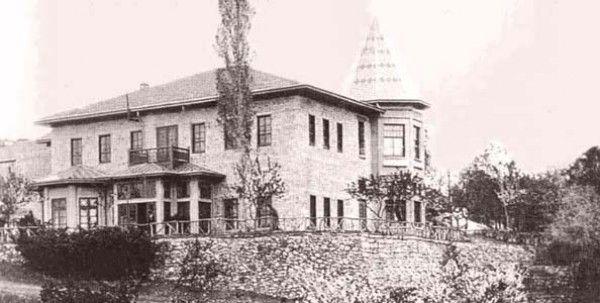Eski Çankaya Köşkü Eski Ankara Fotoğrafları 1