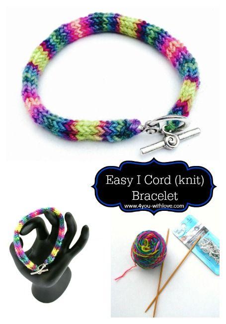Easy Knit Bracelet