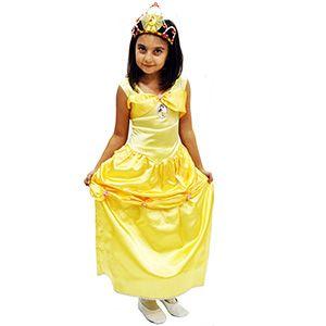 Prenses Belle Çocuk Kostümü 3-4 Yaş, en güzel doğum günü elbiseleri