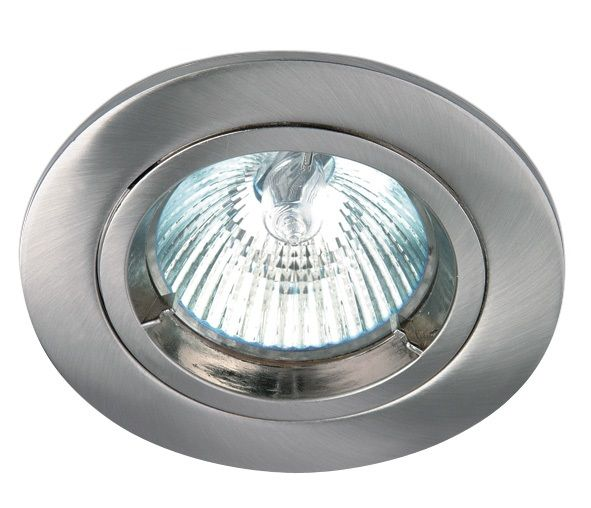 One Light Luna Za Vgrazhdane Inoks Metal Krgla Mr16 Gu5 3 50w 12v Ip20 10105 Mc 10105 Mc Tools
