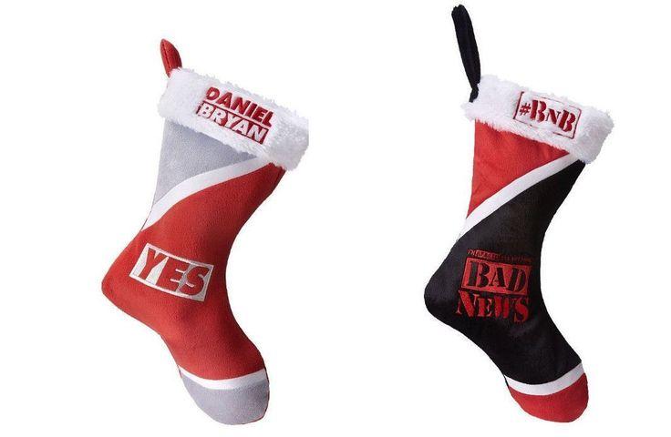 Daniel Bryan or Wade Barrett Bad News Holiday Stocking (Christmas) (WWE) NWT - http://bestsellerlist.co.uk/daniel-bryan-or-wade-barrett-bad-news-holiday-stocking-christmas-wwe-nwt/