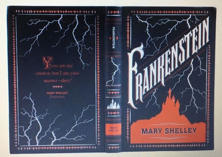 FRANKENSTEIN by MARY SHELLEY Leatherbound Collectible Edition & BRAND NEW!