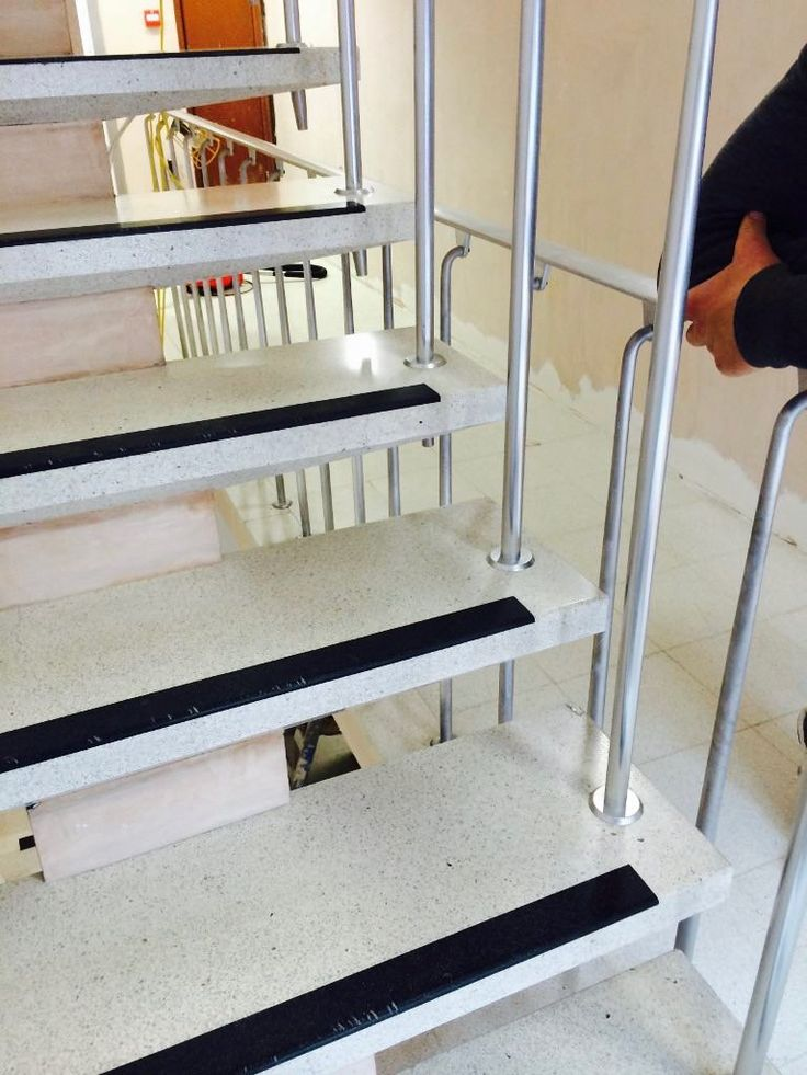 Terrazzo stair restoration and cleaning