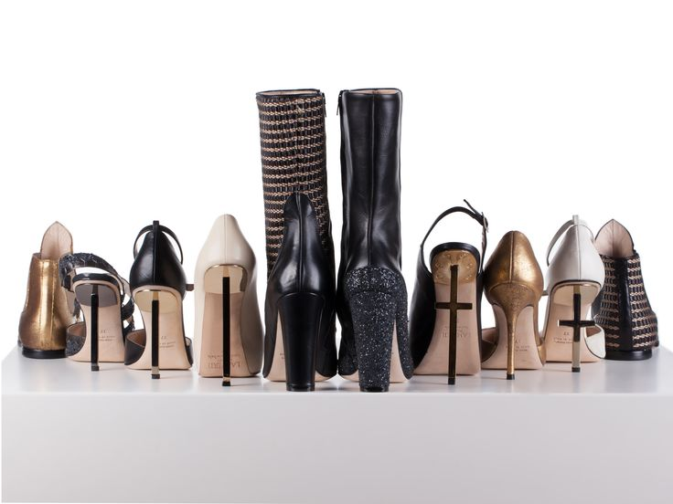 Tristan & Isolde collection, heels, boots, cross, rod, golden nappa leather, made in Italy, Lamperti Milano