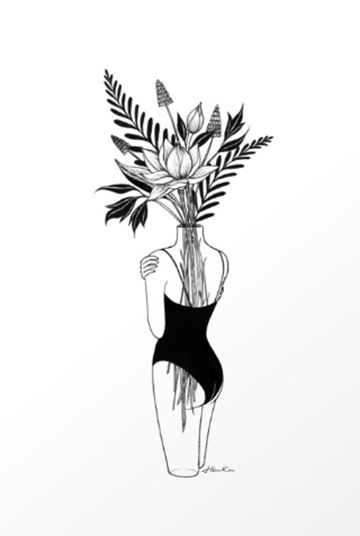 Fragile print by Henn Kim
