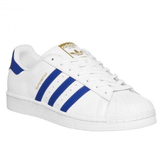 ADIDAS Superstar Foundation blanc bleu chaussures Originals 89,00 € #skate #skateboard #skateboarding #streetshop #skateshop @playskateshop