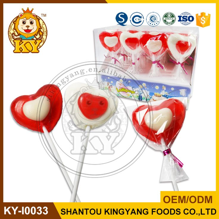 Heart Shape Candy Lollipop Companies
