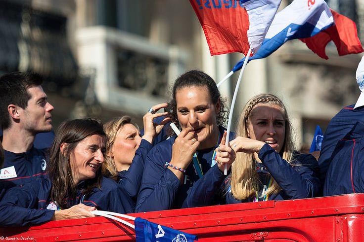 Le coin des filles : Christelle Daunay, Mélina Robert-Michon, Marie Gayot. #athlete #zurich2014 #ffa #athletics #athletisme #france #teamfrance #teamathle #sport #sportsperson #sportswoman #trackandfield