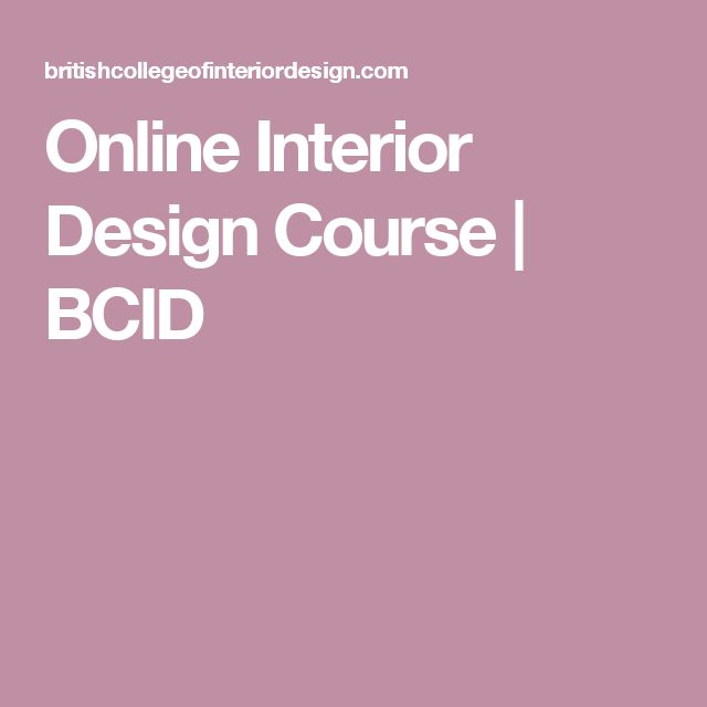 interior design courses online on pinterest interior design classes