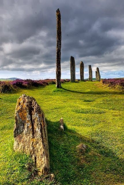 Ring of Brodgar, Orkney, Scotland - The Ring of Brodgar is a Neolithic henge and stone circle on the Mainland, the largest island in Orkney, Scotland. It is part of the UNESCO World Heritage Site known as the Heart of Neolithic Orkney