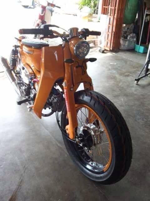 Honda Street Cub mods - the good made better - MotoMalaya