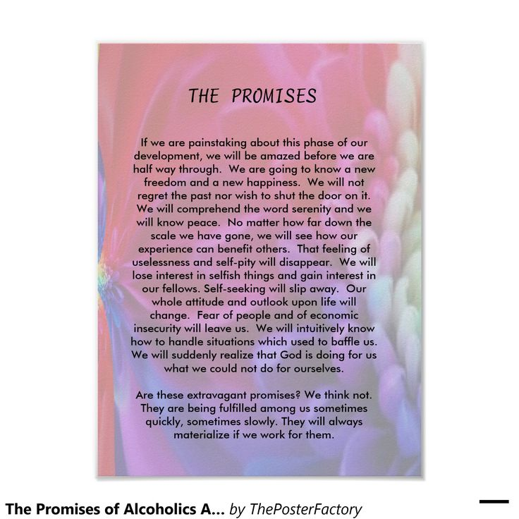 The Promises of Alcoho...