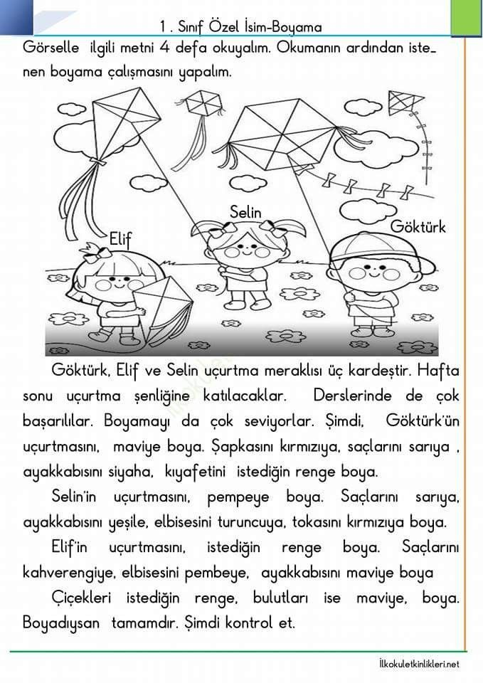 Resimli Boyamali Matematik Toplama Yapma Sayfalari Nazarca Com
