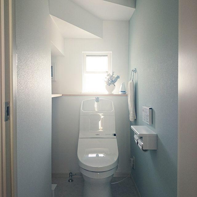バス トイレ 階段下トイレ 収納棚 トイレ 階段下 などのインテリア