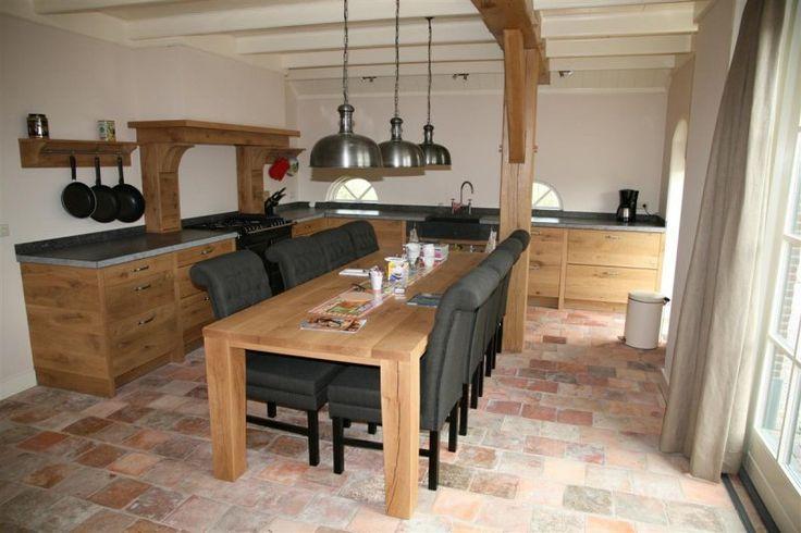 25 beste idee n over franse keukeninrichting op pinterest frans land decoreren - Deco keuken oud land ...