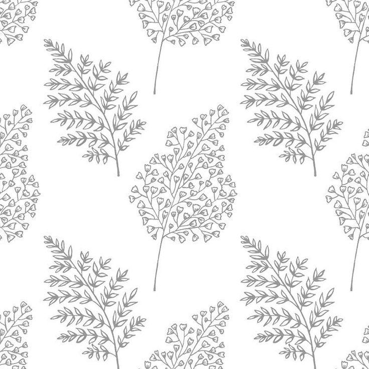 Petit Leaves pattern. #pattern #botanical #illustration