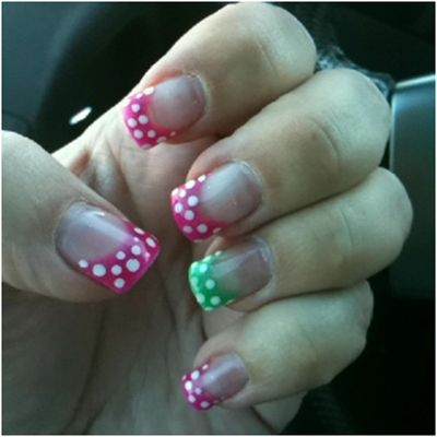 18 Polka Dots Nail Art Designs That You Can Try Right Now | StyleCraze