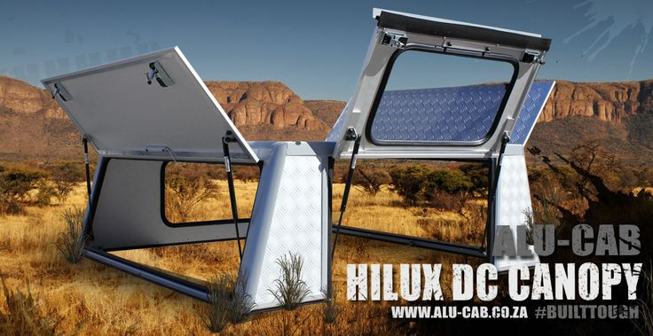 Alu-Cab's Hilux Double cab canopy