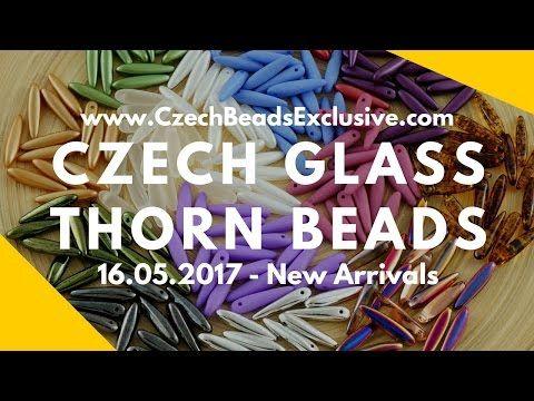 Czech Glass Thorn Beads – New Arrivals 16.05.2017 | CzechBeadsExclusive