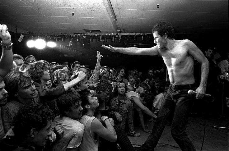 Jello Biafra #DeadKennedys 1983 photo by Mats Bäcker