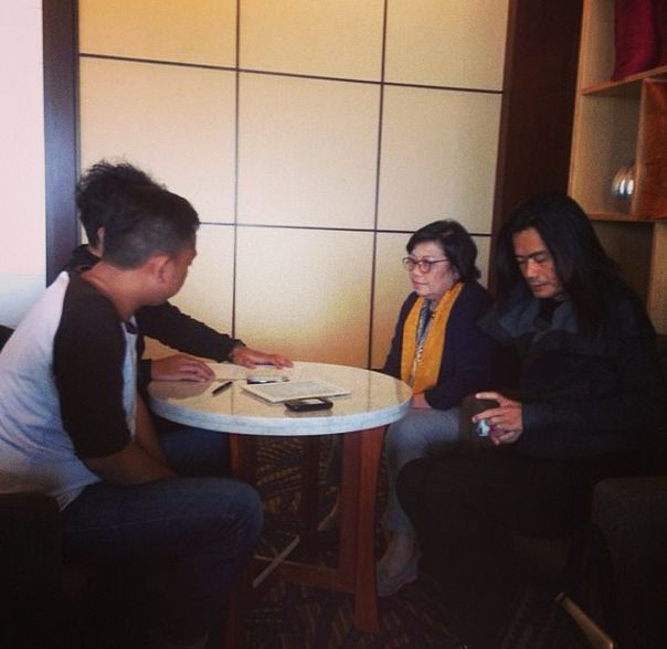 Tapping Interview for @iradiojogja with Jay Subyakto and Lea Azis. Stay tune today 5.00 pm on 88.7 FM Iradio Jogja. #apsda2014 #apsdaday5 #livefromapsda2014