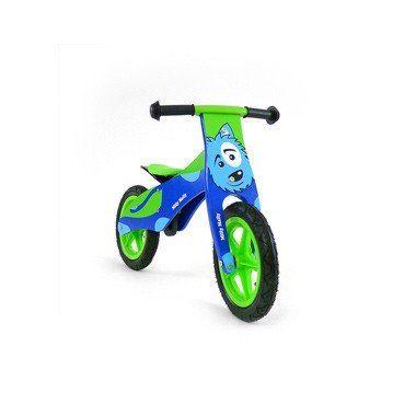 Milly Mally loopfiets DUPLO hond - blauw/groen  Iedereen zal je nakijken wanneer jij langs komt rijden op deze flitsende loopfiets. Blauw/groen van kleur met een afbeelding van een leuke hond.  EUR 82.99  Meer informatie