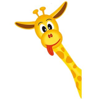 giraffe cartoon baby | Giraffe Cartoon Animal Clip Art Images. Cute Giraffes,Funny Giraffes ...
