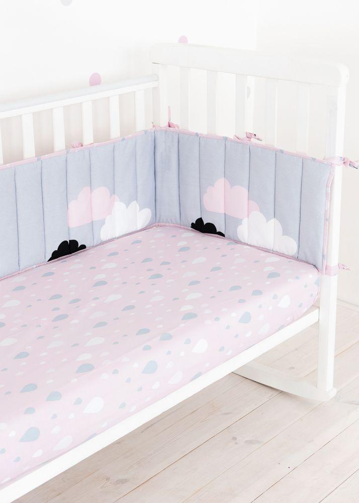 """Бортики """"Облака"""" - не просто красивый аксессуар в кроватку. Они защищают малыша от ударов и сквозняков, а также делают спальное место более уютным👍 __________________________________________________ 🌱Материал: 100% хлопок. Гипоаллергенный дышащий наполнитель Freudenberg (Германия). Размер и цена: 30х180 (на половину кроватки) - 1090 грн. 30х180х2 (на всю кроватку) - 1990 грн. ♻️Международный сертификат качества Oeko-Tex 100. ❗️Бортики в наличии Заказывайте 📲 Viber, WhatsApp +380688091774…"""