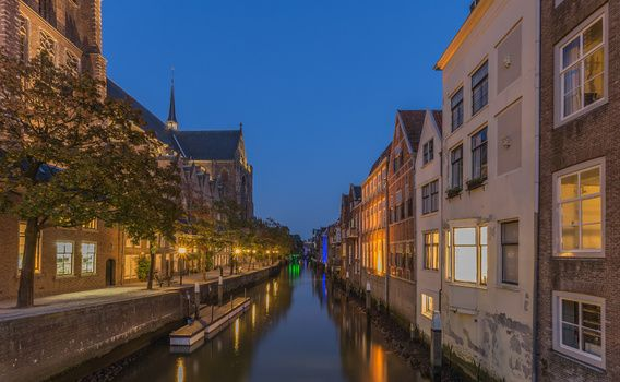Historical Dordrecht in the Blue Hour - part two