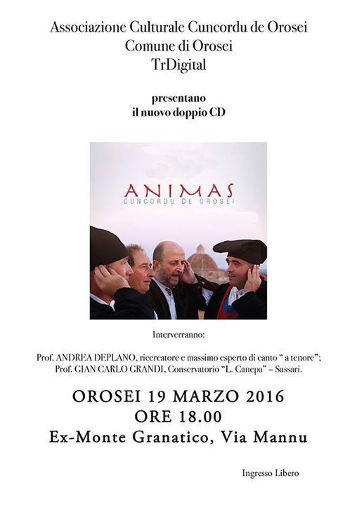 Associazione Culturale Cuncordu Orosei | Orosei