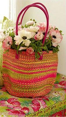 .: Arrangements Ideas, Colors Bags, Flowers Arrangements, Shops Bags, Colors Baskets, Floral Bouquets, Floral Arrangements, Mason Jars, Flowers Beautiful Flowers