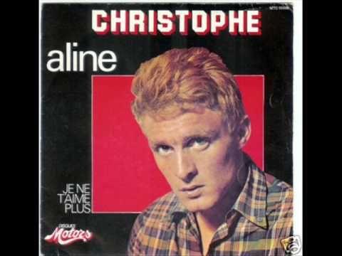 Christophe - Aline - YouTube