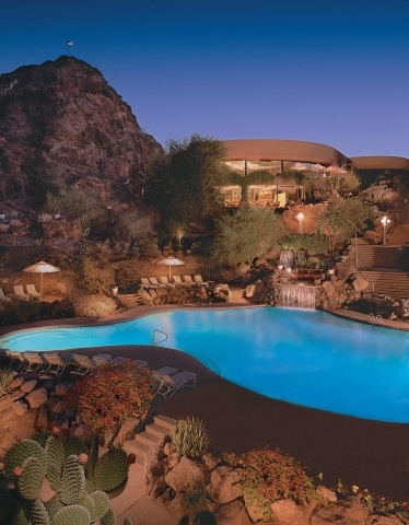 The Butte's pool is one of the Southwest's largest free-form swimming pools (the length of a football field) built on a natural mountainside. Kids and adults alike will also enjoy the thrilling 150 foot water slide.