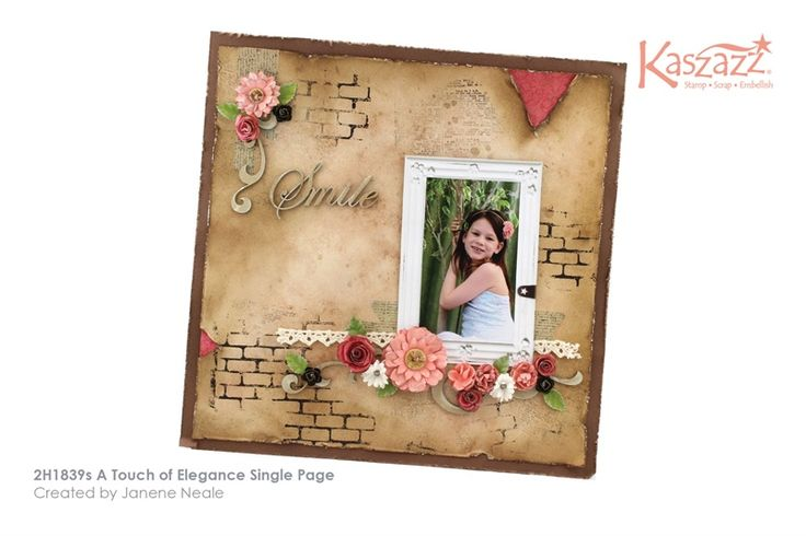 2H1839s A Touch of Elegance Single Page