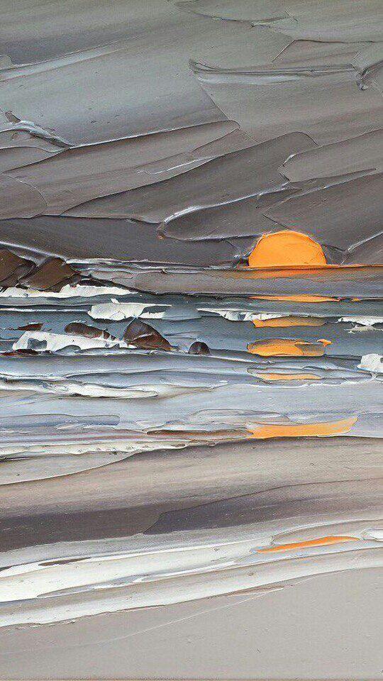 Sunset or sunrise. The texture! – #artsy #sunrise …