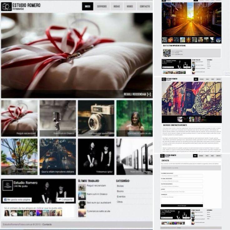 www.estudioromerofotos.com.ar  DESARROLLO & DISEÑO WEB #webdesign #websites #desarrolloweb #diseño  Realizada por blimpo.com.ar Consultas  Facebook: Blimpo Twitter: @BlimpoContacto Gmail: blimpo.contacto@gmail.com Whatsapp: +54 9 3541 378566