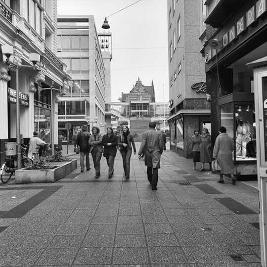 Heerestraat Groningen 1980