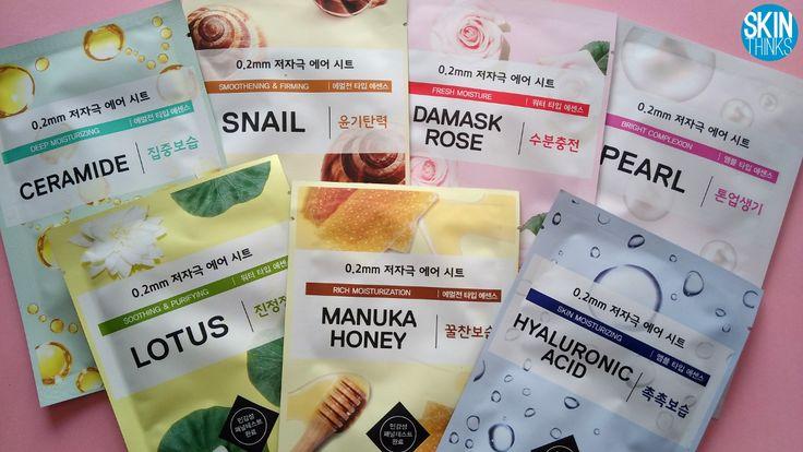 0.2mm Therapy Air Mask de Etude House ¿Qué hace diferentes a estas mascarillas?  Su grosor de 0.2mm permite que se adapten como una segunda piel y te permiten continuar con cualquier actividad mientras la llevas puesta. Súper cómodas!!  Son hipo-alergénicas y 7 free, pasan los principales test de alergia, lo que la hace ideales para todo tipo de piel incluyendo las más sensibles o pieles alérgicas.     #cosmeticacoreana #skinthinks #etudehouse