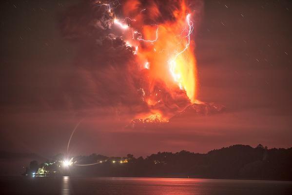 Vulcano Calbuco Cile