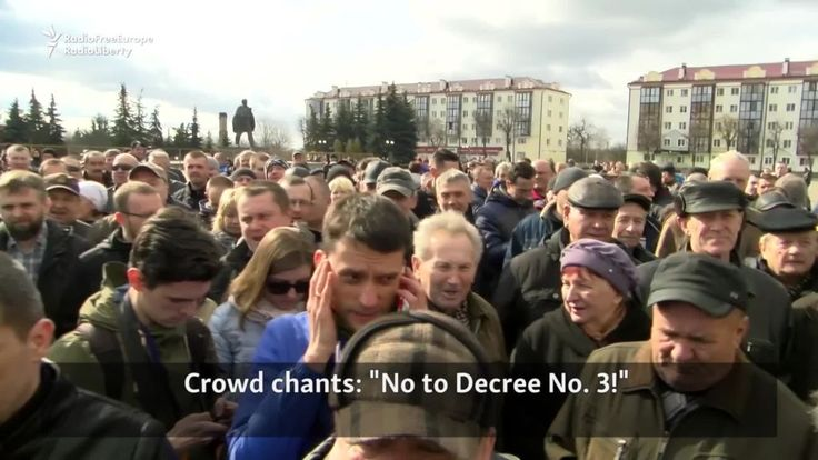 #world #news  Hundreds Protest In Belarus City Against Tax On Jobless  #StopRussianAggression @realDonaldTrump @POTUS @thebloggerspost
