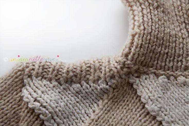 scollo per maglia ai ferri, collo a maglia, modello collo a maglia, collo ai ferri, modello facile collo, spiegazioni collo,