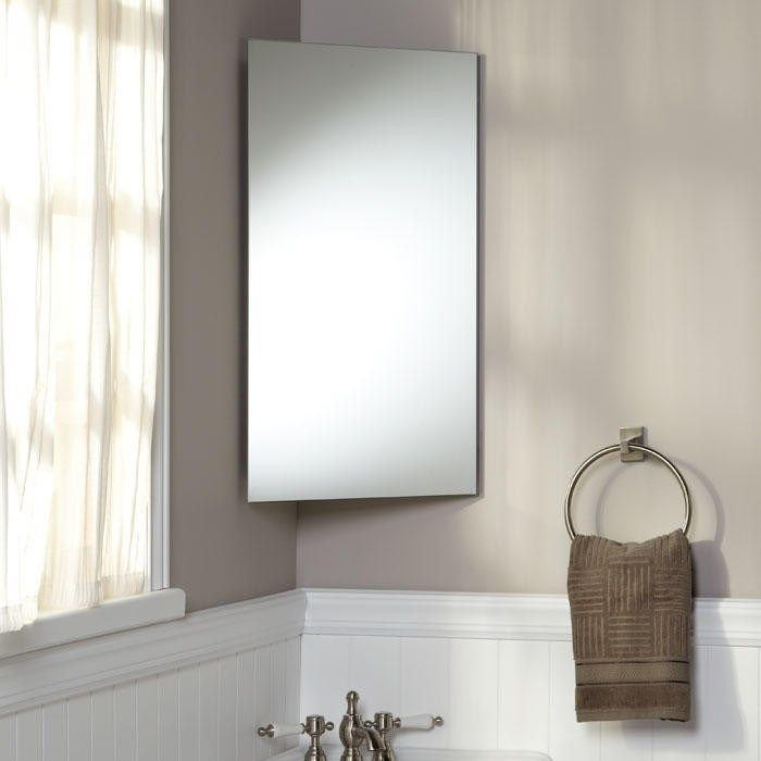 Photo Gallery For Website Carrington Stainless Steel Corner Medicine Cabinet bathroom cabinets http bathroom