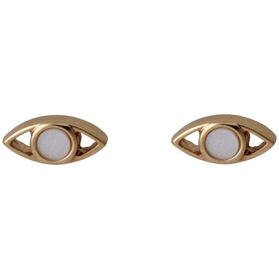 Διακριτικά σκουλαρίκια PILGRIM από ορείχαλκο | Για αγορά πατήστε πάνω στην εικόνα