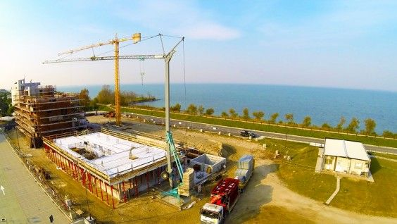 November 2013 - Building A/Building B #workinprogress #soleis #realestate #forsale #italy #lignano