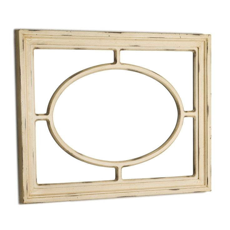 PANELLED MIRROR  - ANTIQUE WHITE alternate idea for queen bedsides