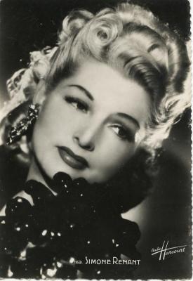 Harcourt. Simone Renant