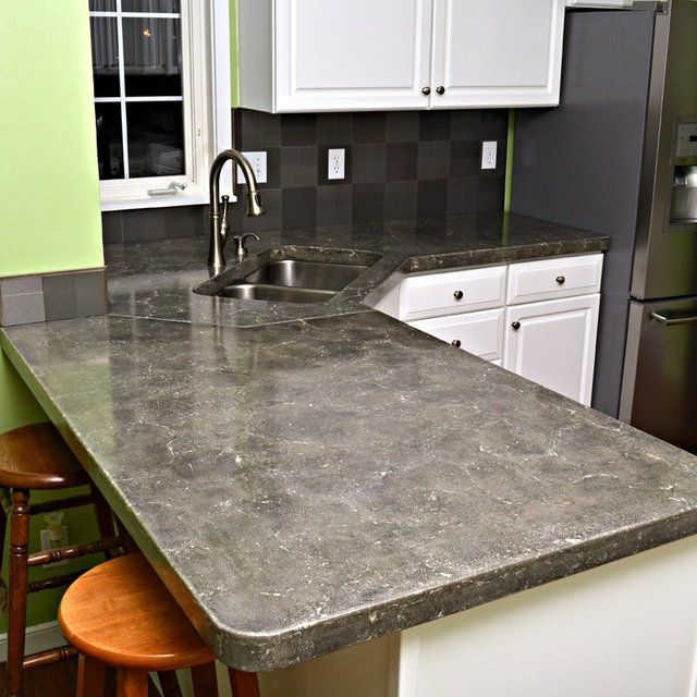 Diy Tile Countertop Removal: Kitchen Countertops (Concrete)