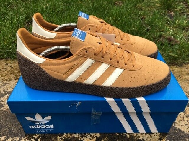 online store 8b70b eed0a ADIDAS ® MONTREAL 76 SIZE 12 UK MENS TRAINERS ORIGINALS MESA B41481 NEW  BOXED 4059811135667   eBay